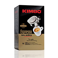 Kimbo Espresso Gold 100% Coffee Pods