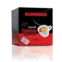 Kimbo Espresso Napoletano Coffee Capsules