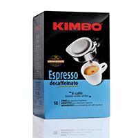 Kimbo Espresso Decaffeinato Coffee Pod